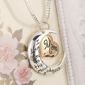 Jewelry - I love you to the moon and back necklace - NWT